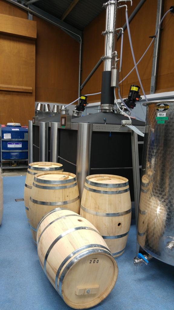 brand new chestnut barrels