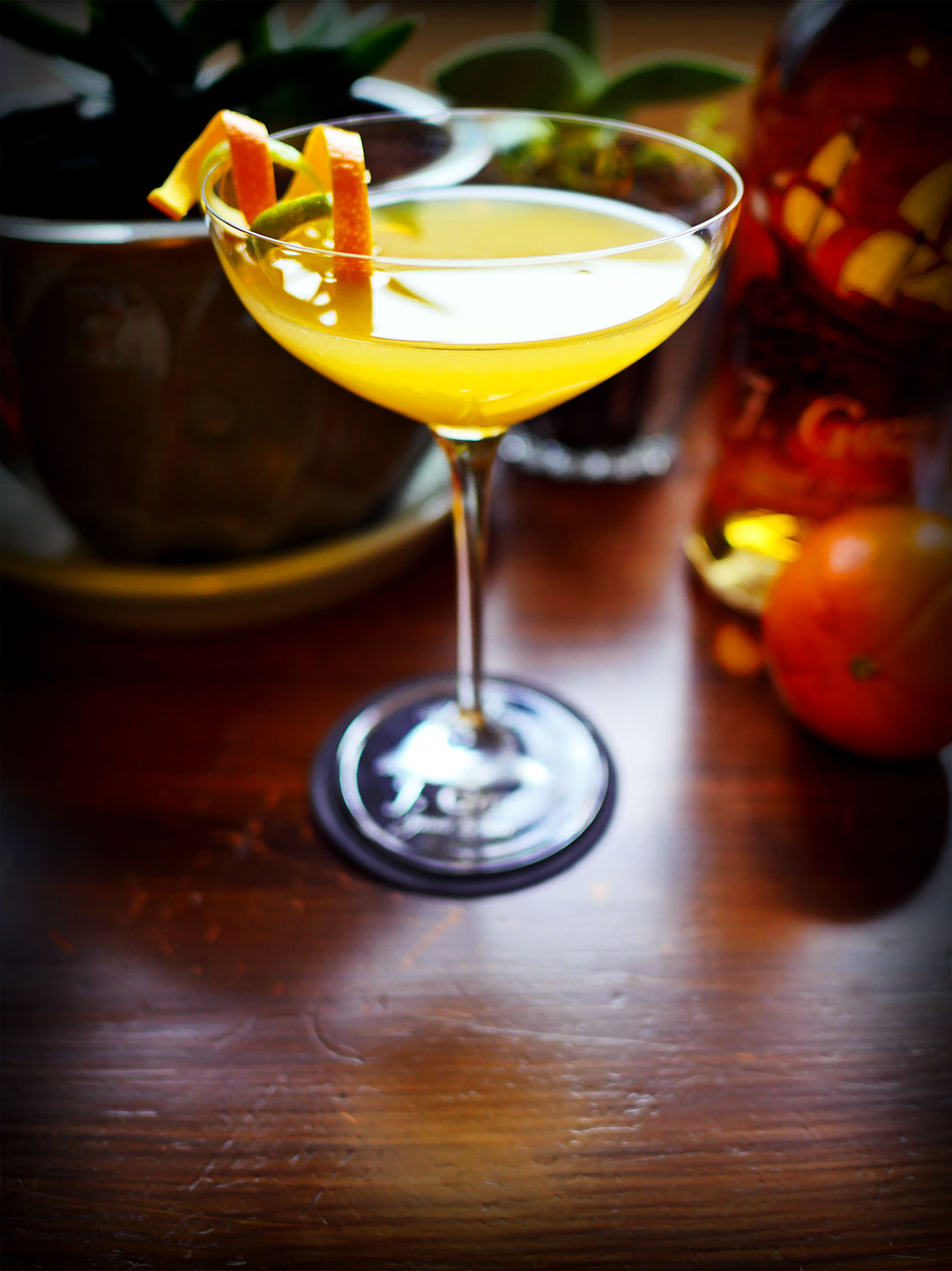 J Gow Spiced Rum Orange Daiquiri