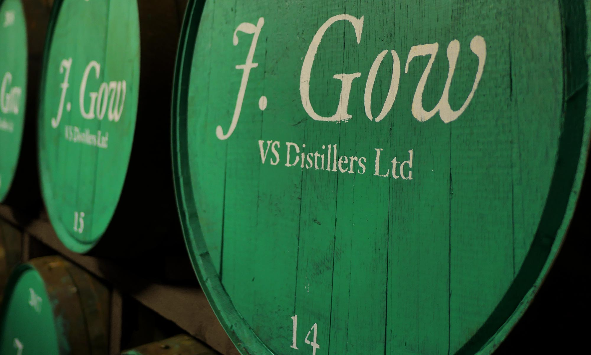 j gow barrel room close up