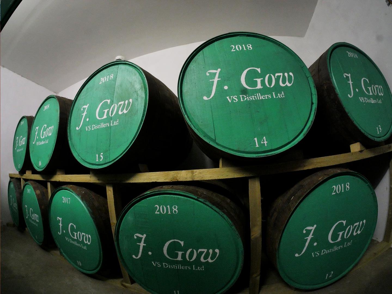 j gow rum barrels fisheye