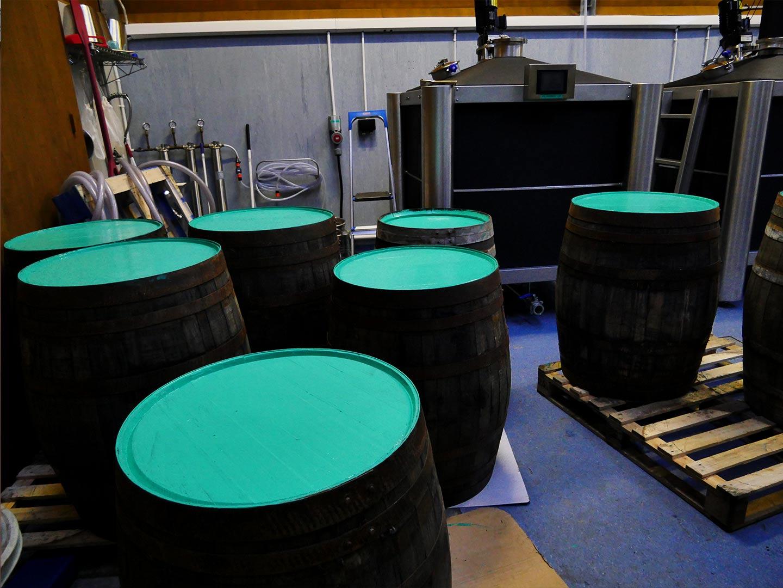painting barrels