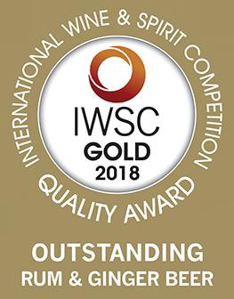 J Gow Rum Gold Outstanding IWSC medal