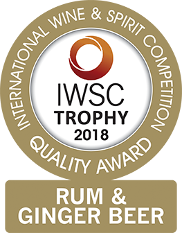 J Gow Rum Rum and Ginger beer trophy IWSC