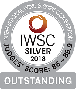 J Gow Rum IWSC Silver outstanding medal