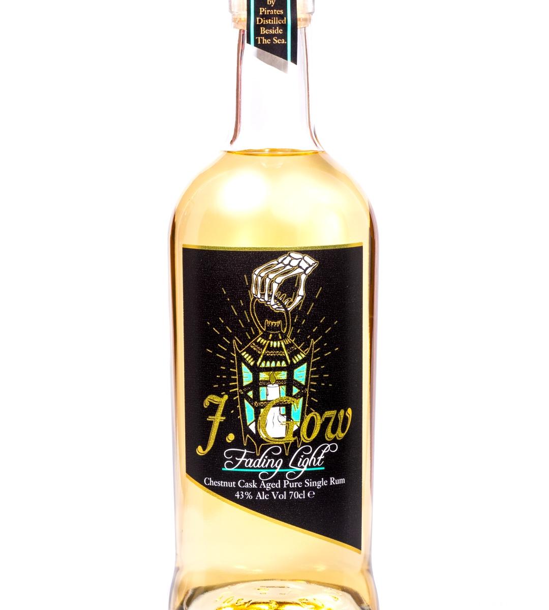 Scottish Chestnut cask aged pure single rum, J. Gow