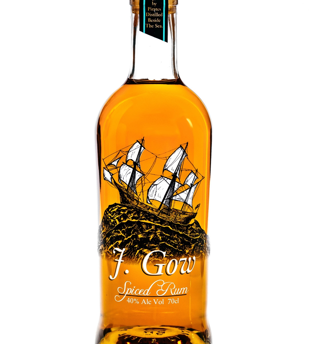 J. Gow Scottish pot still spiced rum