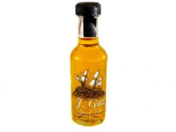 j gow spiced scottish rum 5cl mini