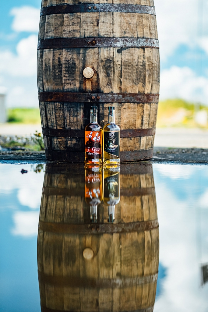 J Gow scottish rum barrel reflection image by Scott vs photo