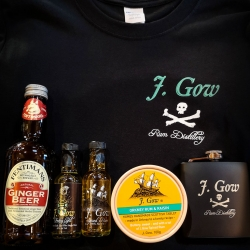 j gow pirate bundle merch and taster set