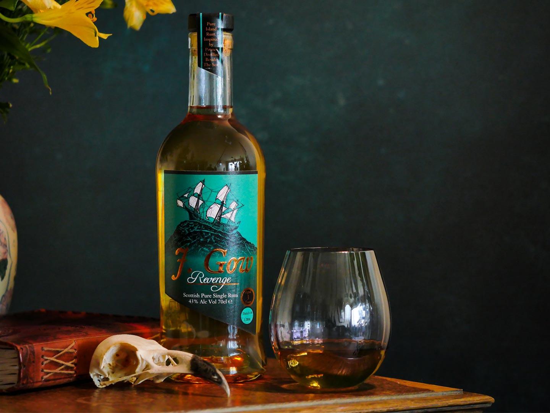 J. Gow Revenge 3 year old Scottish rum