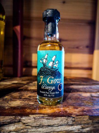 J. gow revenge miniature 5cl rum