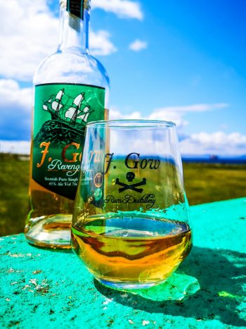 j gow rum glass and revenge serve